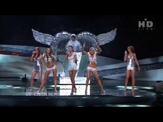 Eurovision 2008 2nd Semi-Final - Tereza Kerndlová - Have Some Fun - Czech Republic (HD)