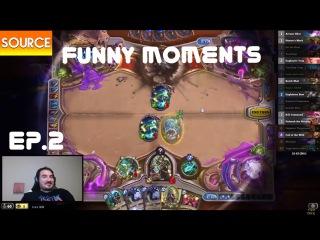 Hearthstone FunTV . Funny moments . Episode 2 .