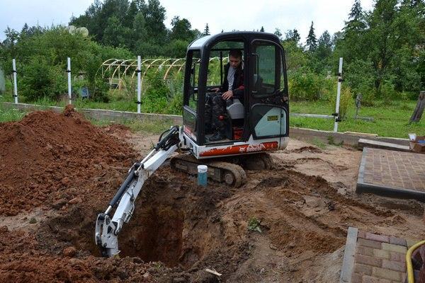 Производство земляных работ ручным и механизированным способом