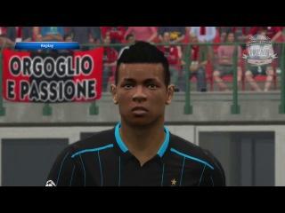 PES 2015 Preview Player Faces Inter Milan