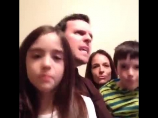 My family. my mother, father, brother and i.(vine)