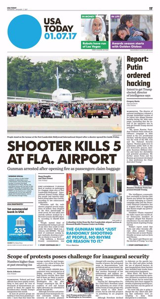 USA Today  January 07 2017