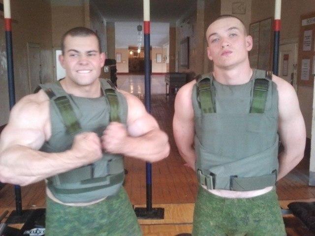 фото качков в армии прокурен