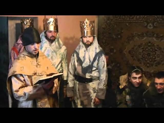 Різдв'яний вертеп в с Присліп Турківського району Львівщина