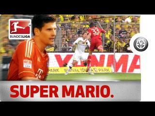 Mario Gomez - All His Goals Against Borussia Dortmund