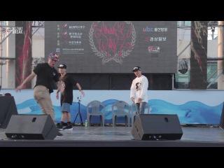 King So & Shorty Force & F.E / Judge Show / Ulsan Summer Warz Vol.8 /