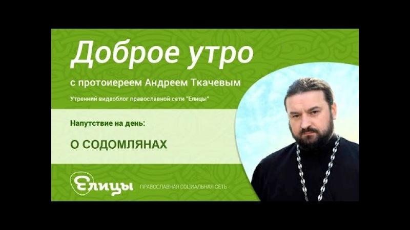 Содомляне. о.Андрей Ткачев. Содом и Гоморра в современном мире, ибо слава их в сраме их