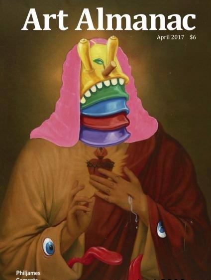 Art Almanac April 2017
