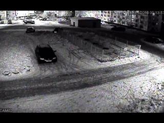 авария Комсомольская 4 другая камера