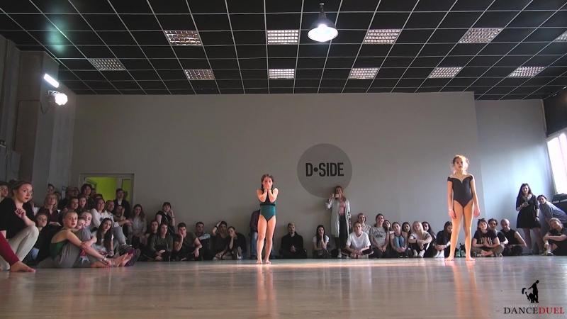 CONTEMPORARY DANCE DUEL 1 2 1х1 KIDS PRO Караваева Дарья Глуган Ангелина