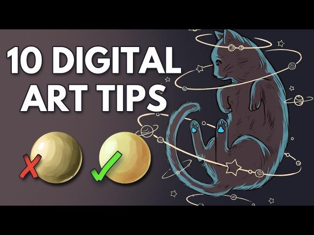 10 Tips for Beginner Digital Artists