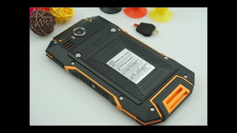 HUADOO V4 Outdoor Smartphone 5 0 IP68 Quad Core 1 3GHz Dual SIM 3G Deutsch CECT SHOP
