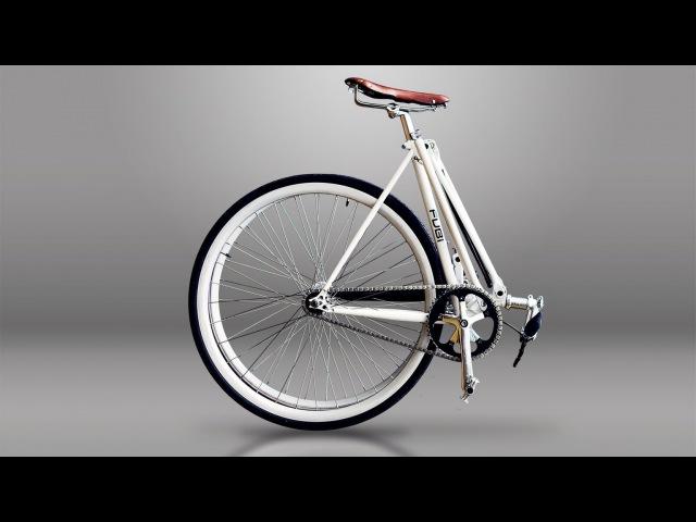 Полезное ИЗОБРЕТЕНИЕ 2017 Портативный Велосипед FUBIE