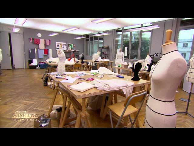 Projet Fashion Défi Robe de mariée Replay Émission 5