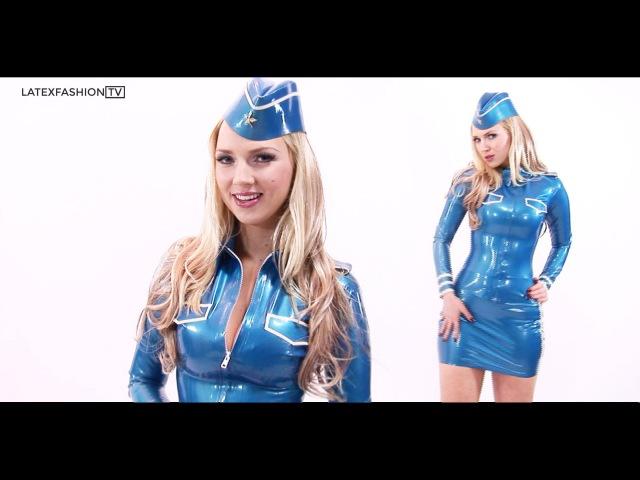 Ancilla Tilia Latex Aviator Interview LatexFashionTV