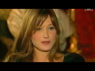 CARLA BRUNI very young 26 years old interview in Fréquenstar in 1994 Part.1