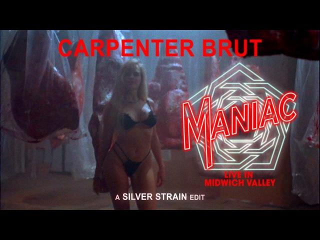 CARPENTER BRUT MANIAC Cover LIVE IN MIDWICH VALLEY