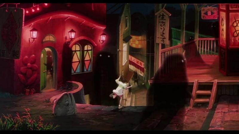 Унесенные Призраками   Spirited Away (2001) Официальный Трейлер
