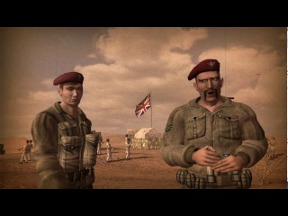 Codename: Panzers – Phase Two. Allied Campaign – All Cutscenes (Russian Full HD Game Film) (2005)
