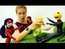 Леди Баг и Супер Кот против ЛЕДИ ВИРУС! ⚗️ Видео для детей/ Игры КУКЛЫ: Света СТА...