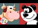 Учим Животных с Киндер сюрпризами. Развивающие мультики для малышей