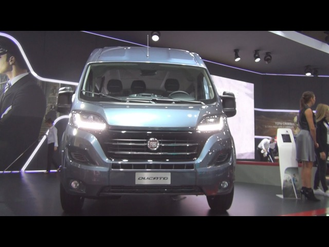 Fiat Ducato Combi Shuttle L3H2 2 3 EcoiJet 150hp SCR 2017 Exterior and Interior in 3D