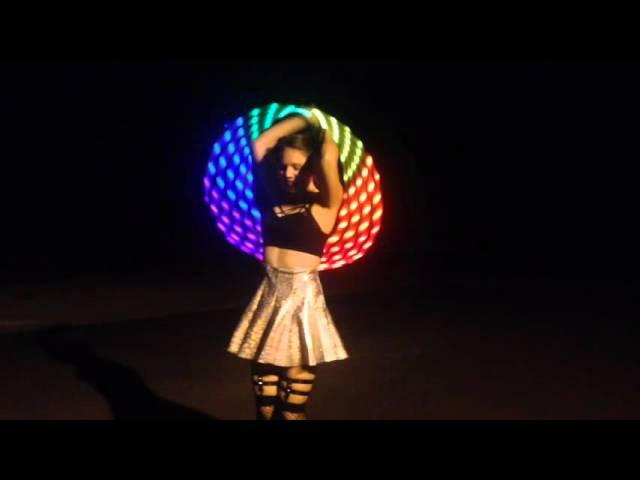Pixie Flow Arts GALANTIS- Runaway (U I) LED hooping