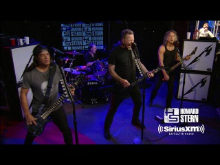 Metallica Master of Puppets Live on the Howard Stern Show