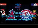 Los Angeles Angels vs Texas Rangers Predictions MLB2017 (29 April 2017) MLB The Show 17