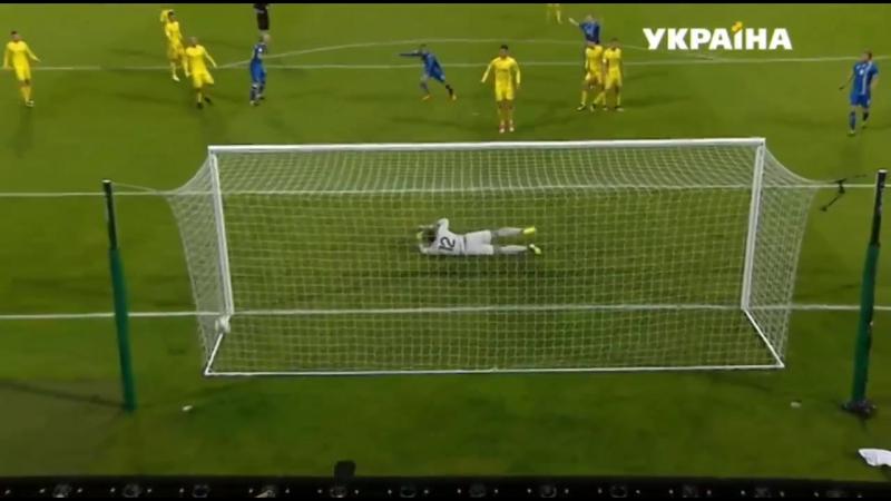 Ісландія 2:0 Україна Гол: Сігурдссон 66 хв.