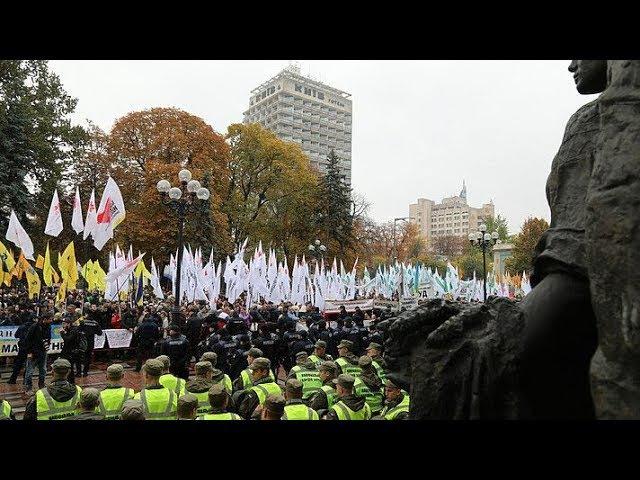 Пресс конференция на тему: Перерастут ли массовые противостояния под Радой в третий Майдан?