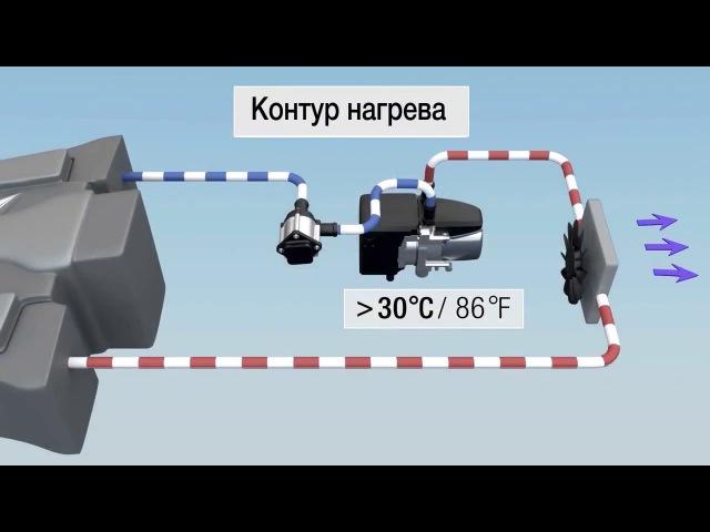 Как работает подогреватель двигателя Hydronic S3 Economy Как устроен отопитель Эберспехер