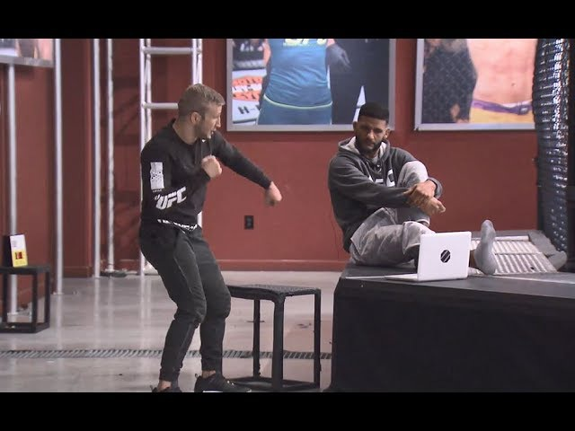 The Ultimate Fighter Redemption: Film Session with Dhiego Lima