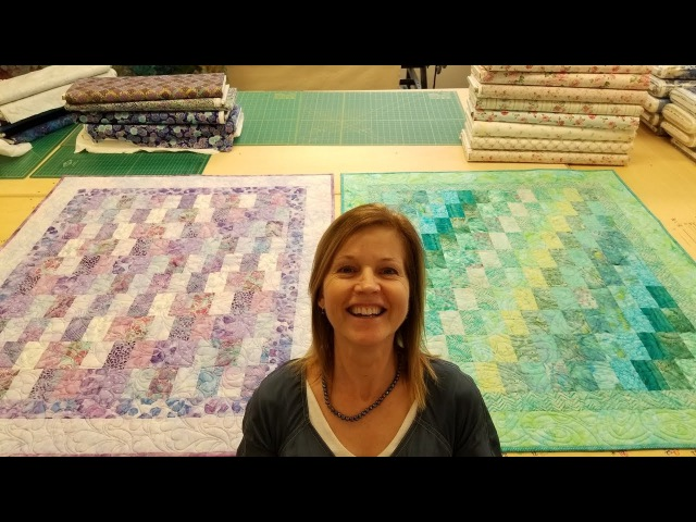 Pt 2 Baby Bargello Long Arm Quilting