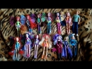 Моя коллекция кукол Винкс 14 штукWinx Club Dolls