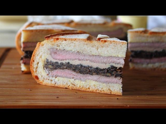 Shooter's Sandwich - Pressed Steak Mushroom Sandwich - Great for Tailgating, Hunting Picnics
