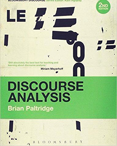 Discourse Analysis An Introduction, 2nd edition
