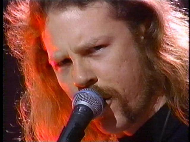 Metallica Wherever I May Roam Live at The AMA's 1993 TV Broadcast