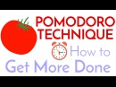 POMODORO TECHNIQUE My Favorite Tool to Improve Studying and Productivity