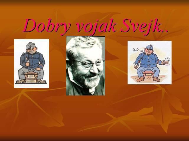 Dobry vojak Svejk Hovori Jan Werich