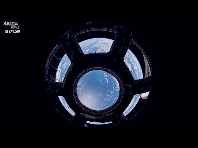 Time lapse video Through The Cupola Jack Fischer Expedition 52 crew on the ISs