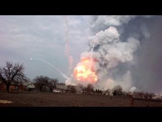 Балаклея  Подборка самых зрелищных моментов  Взрывы, взлеты ракет, снарядов и хв
