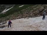 Снежный склоны Кавказа