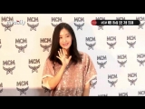 180817 Hyomin - MCM Store Renewal Opening Event - Lotte Department Store