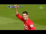 Гол Криштиану Роналду в ворота Вест Хэм Юнайтед