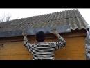 Хорошо живём. Самообеспечение, деревня, ЗОЖ Водосточные желоба своими руками за 10 минут. Сбор дождевой воды.