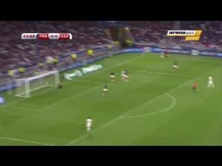Julian Green Goal vs FRANCE - USA