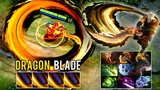 NEW DRAGON BLADE ITEM! EPIC IMMORTAL Item + Arcana - 9 ITEMS Juggernaut INSANE Game - Dota 2