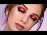 SUNSET Smokey Eye with New Power Pigments Makeup Tutorial