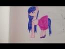 Мои рисунки пони